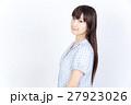 若い女性 美髪 ポートレート 27923026