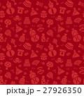 ひなまつりのシームレスパターン背景素材 27926350