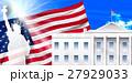 アメリカ  自由の女神  国旗 ホワイトハウス  27929033