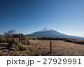 竜ヶ岳山頂から見た富士山 27929991