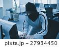 情報漏洩 男性 クラッキングの写真 27934450