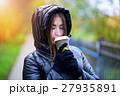 コーヒー 女の子 女子の写真 27935891