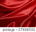 ドレープ 生地 赤色の写真 27936532