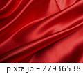 ドレープ 生地 赤色の写真 27936538