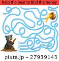 動物 くま クマのイラスト 27939143