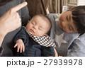赤ちゃん 子供 寝顔の写真 27939978