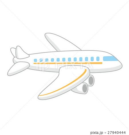 かわいい飛行機のイラスト素材 27940444 Pixta