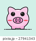 Pig bank cartoon vector design. 27941343