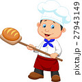 パン職人 男 男性のイラスト 27943149