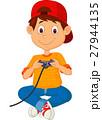 少年 遊ぶ ゲームのイラスト 27944135