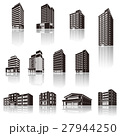 建物の影のイラスト / 立体図形 27944250