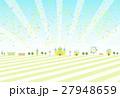 紙吹雪 テーマパーク ベクターのイラスト 27948659