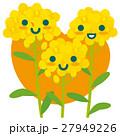 菜の花 親子 春のイラスト 27949226