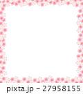 桜 春 フレームのイラスト 27958155