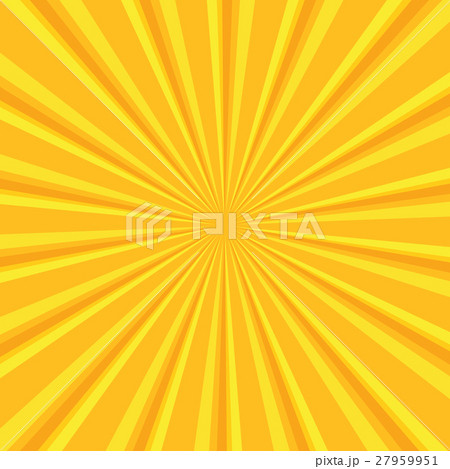Yellow colored back pop art style background 27959951
