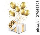開いたプレゼントの箱 27965898