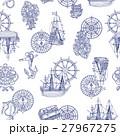 帆船のパターン 27967275