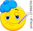 Sick emoticon 27968700