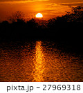 Scenery of Silhouette Sunset 27969318
