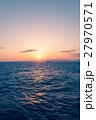 海 夕暮れ 夕焼けの写真 27970571