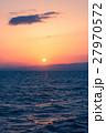 海 夕日 日没の写真 27970572