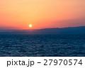海 夕日 日没の写真 27970574