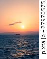 海 夕日 日没の写真 27970575
