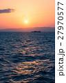 海 夕日 日没の写真 27970577