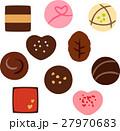 チョコレート チョコ セットのイラスト 27970683