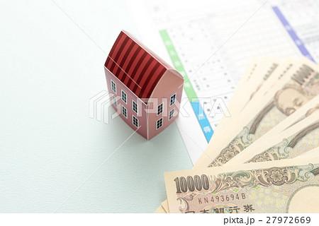 確定申告と家の写真素材 [27972669] - PIXTA