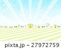 花火 テーマパーク ベクターのイラスト 27972759