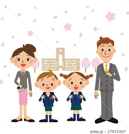 入学式親子 27973307