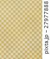 アナログ風 和風の市松模様背景イラスト素材 縦長 27977888