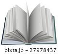 開ける 書籍 扇のイラスト 27978437