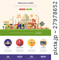 Traveling to India website header banner with 27978652