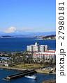 1月 富士山1662江の島と逗子マリーナ・大崎公園展望 27980181