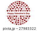 バレンタイン バレンタインデー カードのイラスト 27983322