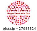 バレンタイン バレンタインデー アイコンのイラスト 27983324