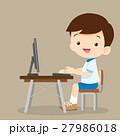 男の子 子 子供のイラスト 27986018