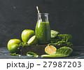 グリーン 緑色 スムージーの写真 27987203