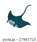 マンタ サカナ 魚のイラスト 27987715