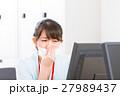 疲労 オフィスレディ 体調不良の写真 27989437