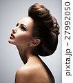 Beautiful  woman with style hairstyle 27992050