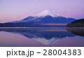 夜明けの富士山 16:9 28004383