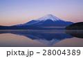 夜明けの富士山 16:9 28004389