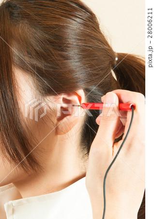 電気抵抗探査法で耳ツボダイエット 28006211