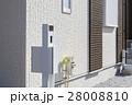 新築住宅の機能門柱 28008810