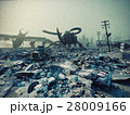 Ruined city by giant insects 28009166