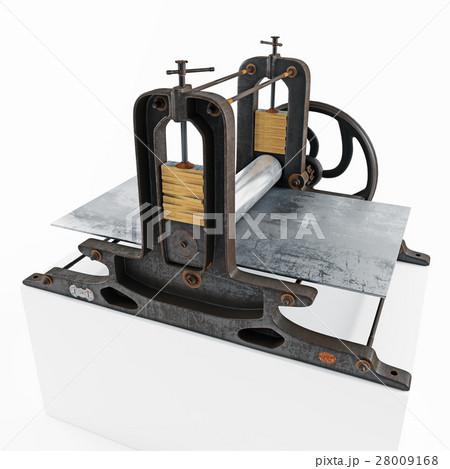 vintage printing pressのイラスト素材 [28009168] - PIXTA