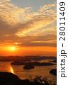 瀬戸内海のサンセット 28011409